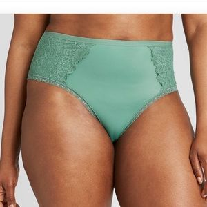NWT teal cheeky panty